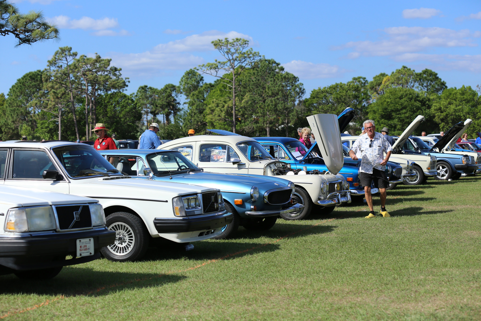 Spring Meet Report Celebration Of Cars Florida Chapter Of - Wickham park car show melbourne fl